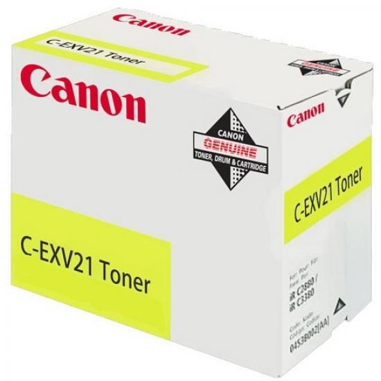Canon C-EXV21 Original Gelb 1 Stück(e)