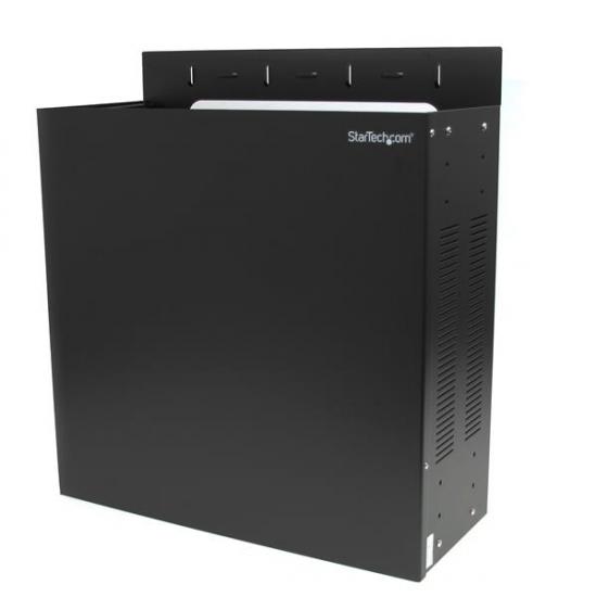 StarTech.com 4 HE 19 Zoll Stahl Server Rack zur horizontalen Wandmontage