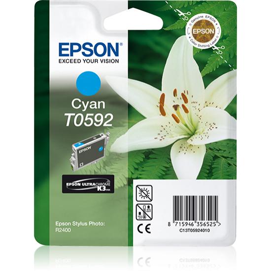 Epson Lily Singlepack Cyan T0592 Ultra Chrome K3