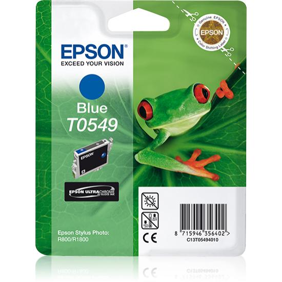 Epson Singlepack Blue T0549 Ultra Chrome Hi-Gloss