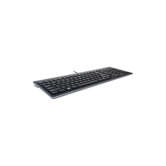 Kensington Advance Fit Tastatur USB AZERTY Französisch Schwarz