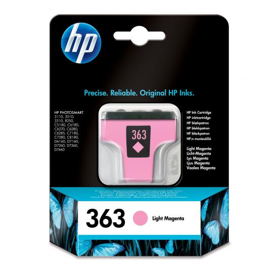 HP 363 Original Helle Magenta 1 Stück(e)