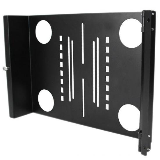 StarTech.com Universal VESA LCD Monitor Halterung schwenkbar für 19 Zoll Rack / Schrank