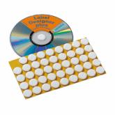 HERMA CD-Fixierungspunkte Ø 15 mm weiß Filz 90 St.
