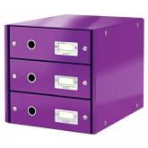 Leitz 60480062 Dateiablagebox Hartplatte, Polypropylen (PP) Violett