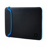 HP Neoprenhülle, 39,62 cm (15,6 Zoll) (Schwarz/Blau)