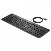 HP 803181-DX1 Tastatur USB Nordisch Schwarz