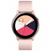 Samsung Galaxy Watch Active Smartwatch SAMOLED 2,79 cm (1.1 Zoll) Roségold GPS