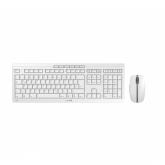 CHERRY Stream Desktop Recharge Tastatur RF Wireless AZERTY Belgisch Grau