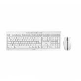 CHERRY Stream Desktop Recharge Tastatur RF Wireless Nordischer Raum Grau