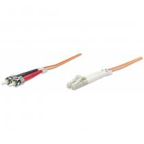 Intellinet 10m LC/ST Glasfaserkabel OM1 Orange