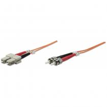 Intellinet 10m ST/SC Glasfaserkabel OM1 Orange