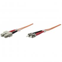 Intellinet 1.0m ST-SC M/M Glasfaserkabel 1 m OM2 Orange