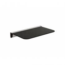 Equip 650501 Regal für AV-Geräte Aluminium Glas