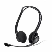 Logitech 960 USB Kopfhörer Kopfband Schwarz