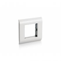 Equip 125461 Wandplatte/Schalterabdeckung Weiß