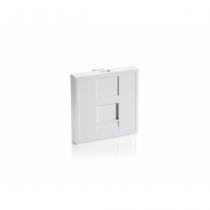 Equip 125471 Wandplatte/Schalterabdeckung Weiß