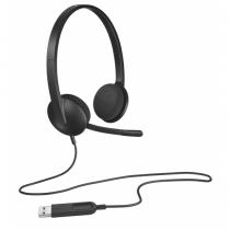 Logitech H340 Kopfhörer Kopfband Schwarz