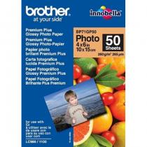 Brother BP71GP50 Premium Glossy Photo Paper Fotopapier Weiß