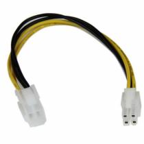 StarTech.com 20 cm ATX12V 4 Pin. P4 CPU-Verlängerungskabel - St/Bu