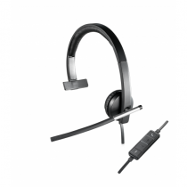 Logitech H650e Kopfhörer Kopfband Schwarz, Grau