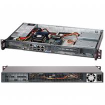 Supermicro CSE-505-203B Server-Barebone Rack (1U)