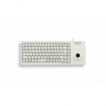 CHERRY XS Trackball Tastatur USB QWERTZ Deutsch Grau