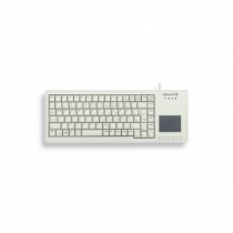 CHERRY XS Touchpad Tastatur USB QWERTY US Englisch Grau