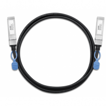Zyxel DAC10G-1M Netzwerkkabel Schwarz