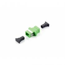 Equip 156144 LWL-Steckverbinder SC/APC Grün 12 Stück(e)