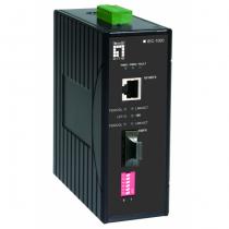 LevelOne IEC-1000 Netzwerk Medienkonverter 100 Mbit/s Multi-Modus Schwarz