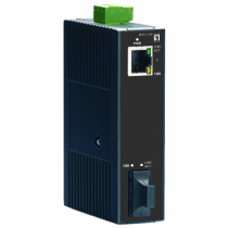LevelOne IEC-1140 Netzwerk Medienkonverter 100 Mbit/s Einzelmodus Schwarz