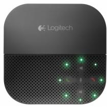 Logitech P710e Freisprecheinrichtung Handy Schwarz USB/Bluetooth