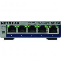 Netgear GS105E-200PES Netzwerk-Switch Managed L2/L3 Gigabit Ethernet (10/100/1000) Grau