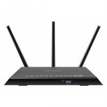 Netgear R7000 WLAN-Router Gigabit Ethernet Dual-Band (2,4 GHz/5 GHz) Schwarz