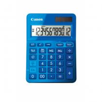 Canon LS-123k Taschenrechner Desktop Einfacher Taschenrechner Blau