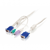 LevelOne 3m PS/2 und USB KVM Kabel