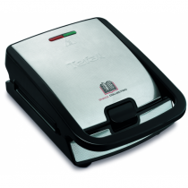 Tefal Snack Collection SW 852 D Sandwich-Toaster 700 W Schwarz, Edelstahl