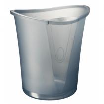 Leitz 52040092 Abfallbehälter Oval Grau Polypropylen (PP)