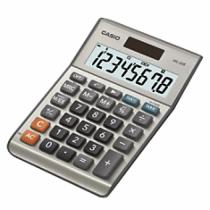 Casio MS-80B Taschenrechner Desktop Einfacher Taschenrechner Silber