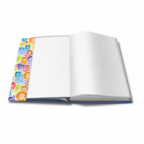 HERMA 26300 Magazin- & Buch-Cover Blau