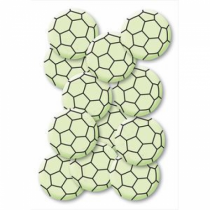 HERMA 15025 Dekorativer Aufkleber Schwarz, Grün 12 Stück(e)