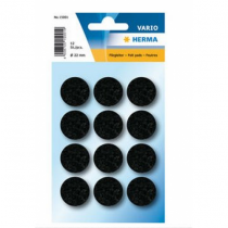 HERMA 15001 Bodenschutzmatte Schwarz