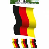 HERMA 3187 Dekorativer Aufkleber Schwarz, Rot, Gelb 1 Stück(e)