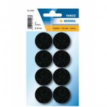 HERMA 15003 Bodenschutzmatte Schwarz