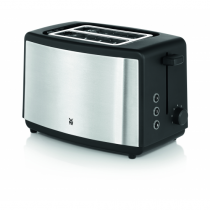 WMF Bueno 04.1411.0011 Toaster 2 Scheibe(n) Schwarz, Silber 800 W