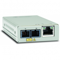 Allied Telesis AT-MMC200/SC-60 Netzwerk Medienkonverter 100 Mbit/s 1310 nm Multi-Modus Silber