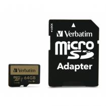 Verbatim Pro+ Speicherkarte 64 GB MicroSDHC Klasse 10 MLC