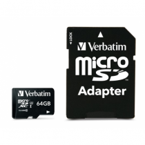Verbatim Pro Speicherkarte 64 GB MicroSDXC Klasse 10 UHS