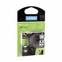 DYMO D1 - Hochleistungsetiketten - Schwarz auf Weiß - 19mm x 5.5m
